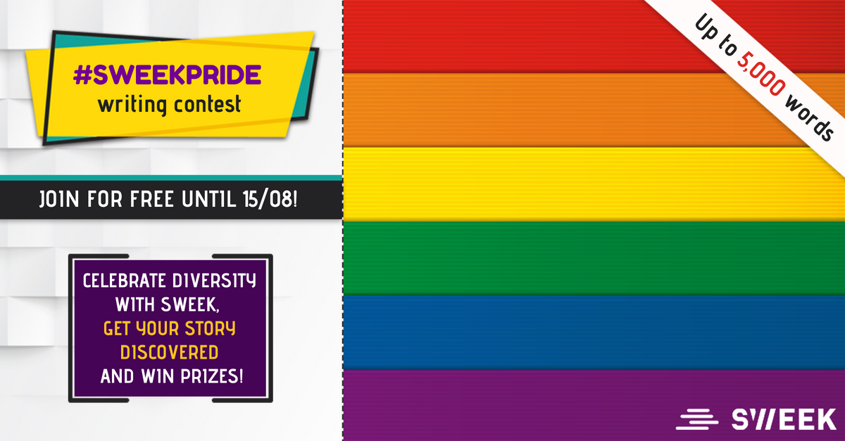 Pride Month 2018: LGBTQ+ #SweekPride Writing Contest